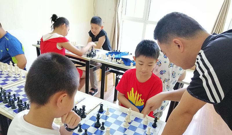 国际象棋暑假第二期招生