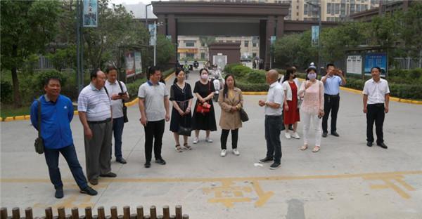 淮安市微型小说研究会举办走进下关村采风活动
