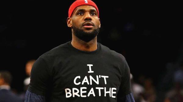 """NBA复赛后,球衣可印""""我无法呼吸""""、""""黑命贵""""标语"""