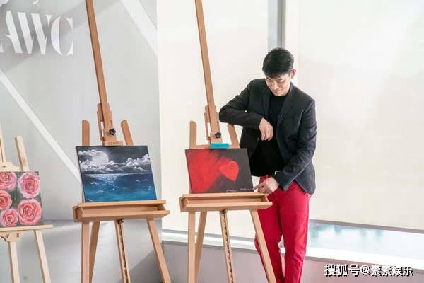 原创             刘德华首次分享家庭趣事,展示女儿的绘画作品,笑称比自己画的好