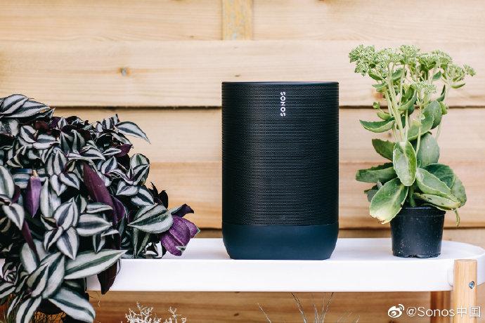 Sonos推出旗下首款户外音箱Sonos Move